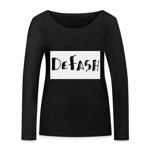 Defash1-png - T-shirt manches longues bio Stanley & Stella Femme