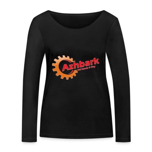 Azhbark Logo - Økologisk Stanley & Stella langærmet T-shirt til damer