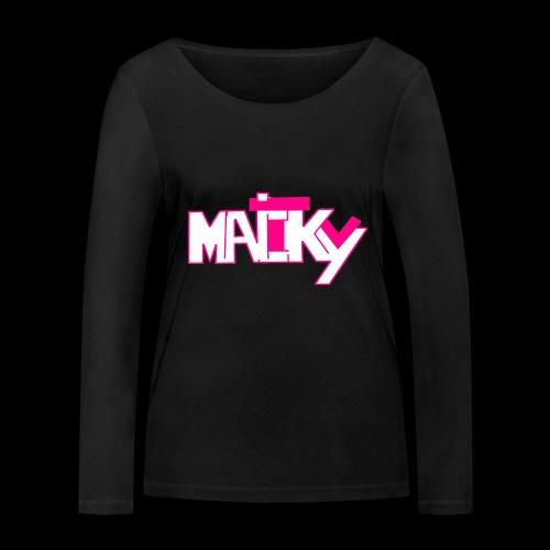 MaickyTv Pink - Frauen Bio-Langarmshirt von Stanley & Stella