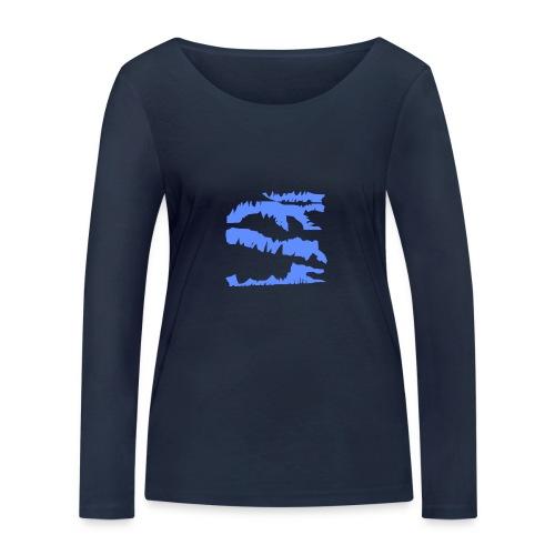 Blue_Sample.png - Frauen Bio-Langarmshirt von Stanley & Stella