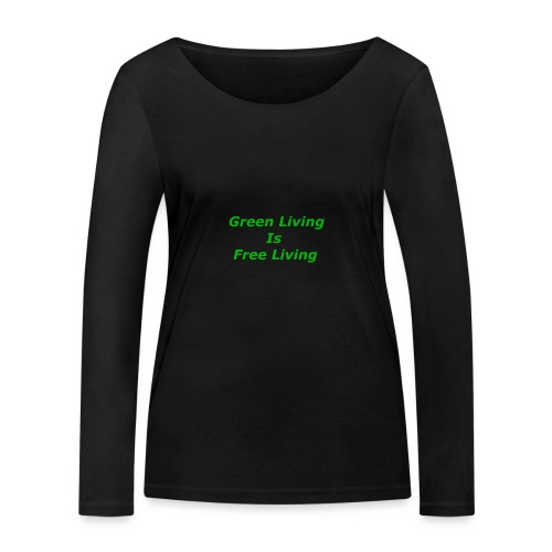 Green Living - Økologisk Stanley & Stella langærmet T-shirt til damer