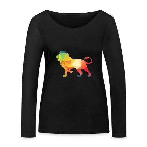 lion - Vrouwen bio shirt met lange mouwen van Stanley & Stella
