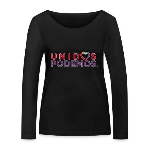 Taza Unidos Podemos 2016 Blanca - Camiseta de manga larga ecológica mujer de Stanley & Stella