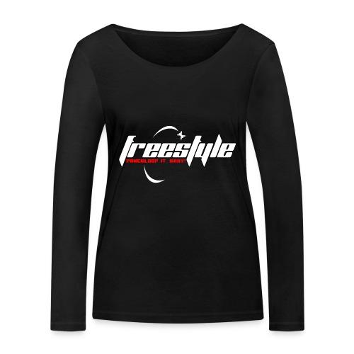 Freestyle - Powerlooping, baby! - Women's Organic Longsleeve Shirt by Stanley & Stella