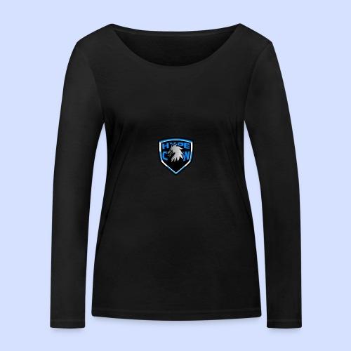 HypeCw logo (Silver) - Women's Organic Longsleeve Shirt by Stanley & Stella