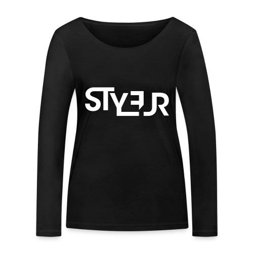 styleur logo spreadhsirt - Frauen Bio-Langarmshirt von Stanley & Stella