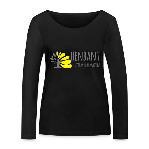 henbant logo - Women's Organic Longsleeve Shirt by Stanley & Stella