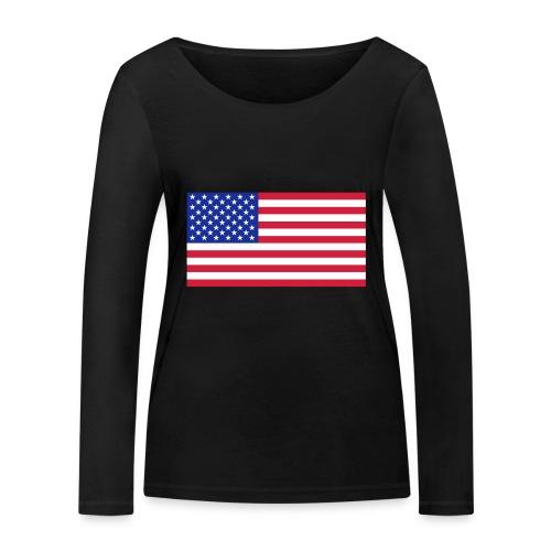 USA / United States - Vrouwen bio shirt met lange mouwen van Stanley & Stella