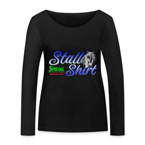 Special Edition Stall Shirt Reiten Geschenkidee - Frauen Bio-Langarmshirt von Stanley & Stella