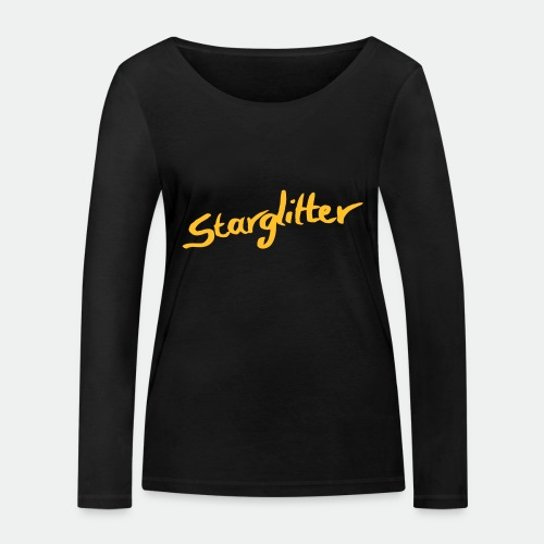 Starglitter - Lettering - Women's Organic Longsleeve Shirt by Stanley & Stella