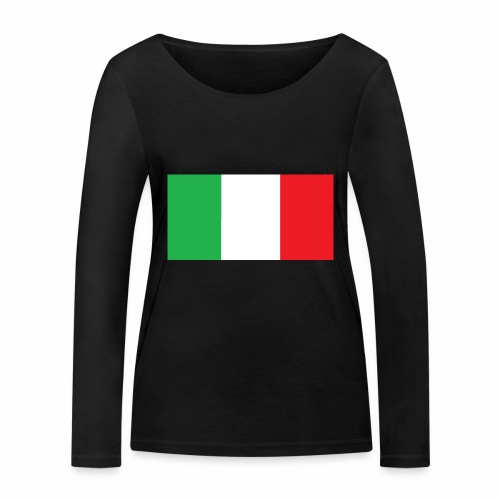Italien Fußball - Frauen Bio-Langarmshirt von Stanley & Stella