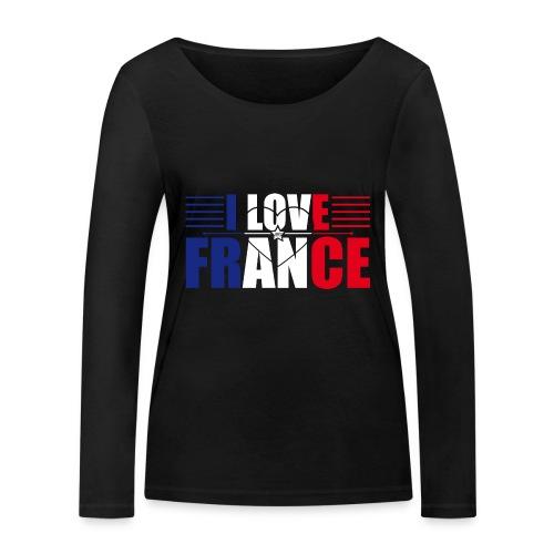 love france - T-shirt manches longues bio Stanley & Stella Femme
