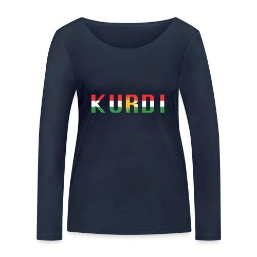 KURDI LOGO - Frauen Bio-Langarmshirt von Stanley & Stella