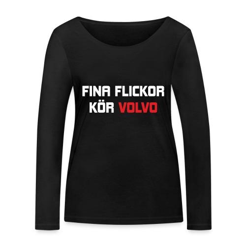 FONAFLICKORKOeRVOLVO - Ekologisk långärmad T-shirt dam från Stanley & Stella