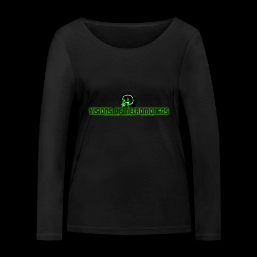 Necromongo Logo ONE - Frauen Bio-Langarmshirt von Stanley & Stella