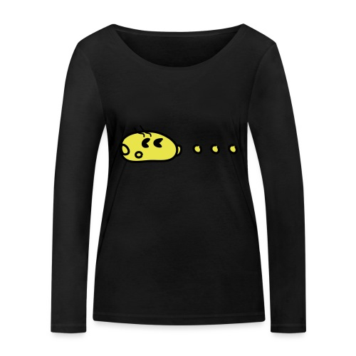 Pac chaising dots - Frauen Bio-Langarmshirt von Stanley & Stella