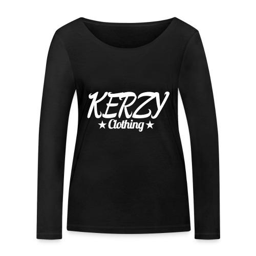 Official KerzyClothing T-Shirt - Women's Organic Longsleeve Shirt by Stanley & Stella