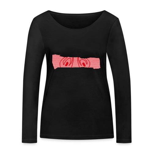abderyckie linie - Ekologiczna koszulka damska z długim rękawem Stanley & Stella