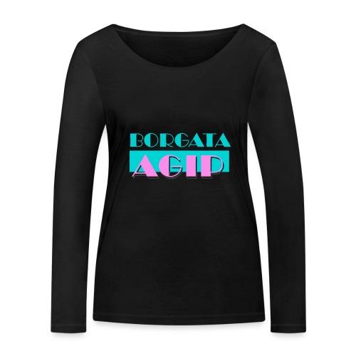 BORGATA AGIP - Maglietta a manica lunga ecologica da donna di Stanley & Stella
