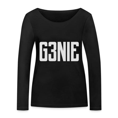 G3NIE bear - Vrouwen bio shirt met lange mouwen van Stanley & Stella