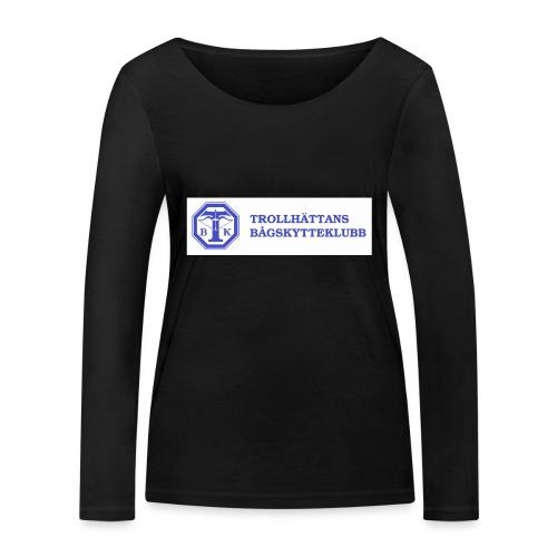 Piké Herr Slim - Tävlingströja med ryggtryck - Ekologisk långärmad T-shirt dam från Stanley & Stella