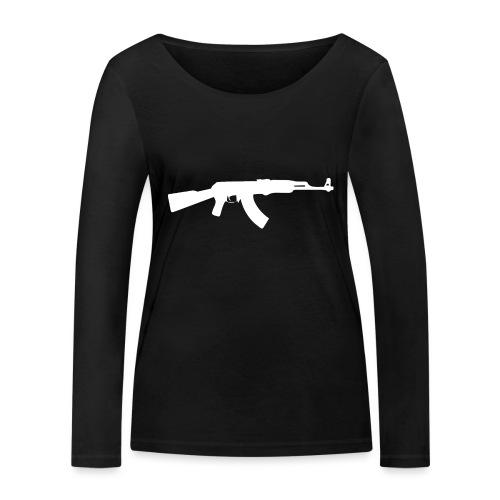 AK-47 - Stanley & Stellan naisten pitkähihainen luomupaita