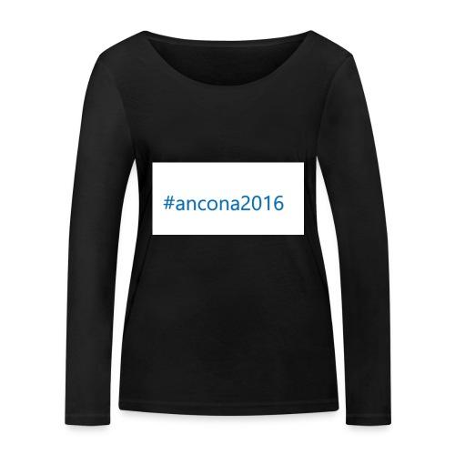 #ancona2016 - Camiseta de manga larga ecológica mujer de Stanley & Stella