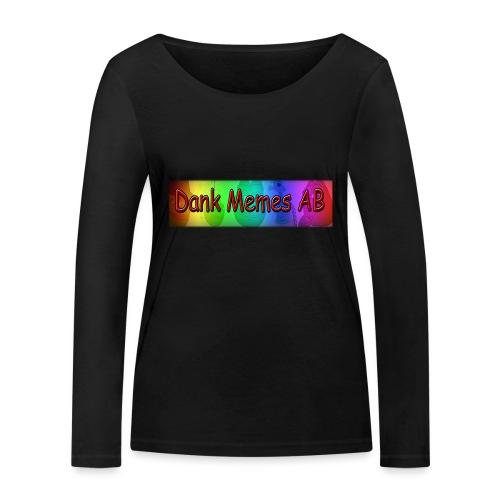 Dank Memes AB T-Shirt - Ekologisk långärmad T-shirt dam från Stanley & Stella