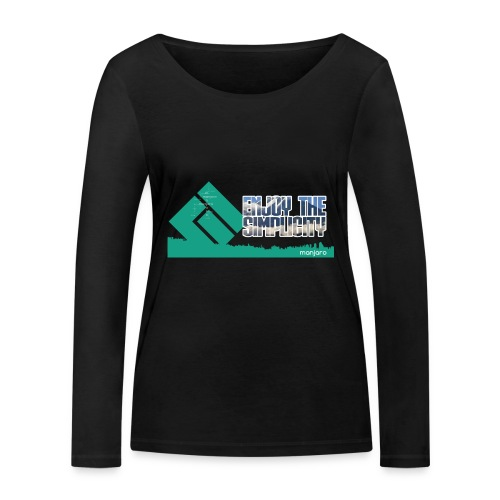 Manjaro CLT19 - Women's Organic Longsleeve Shirt by Stanley & Stella