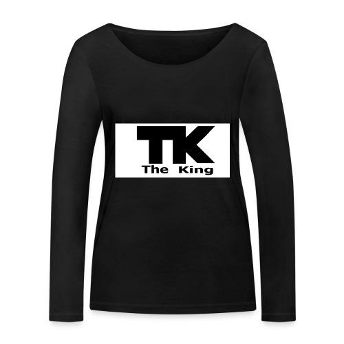 The King med ram - Ekologisk långärmad T-shirt dam från Stanley & Stella