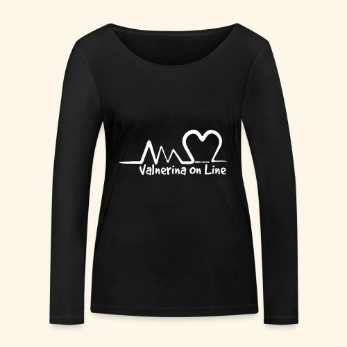 Valnerina On line APS maglie, felpe e accessori - Maglietta a manica lunga ecologica da donna di Stanley & Stella