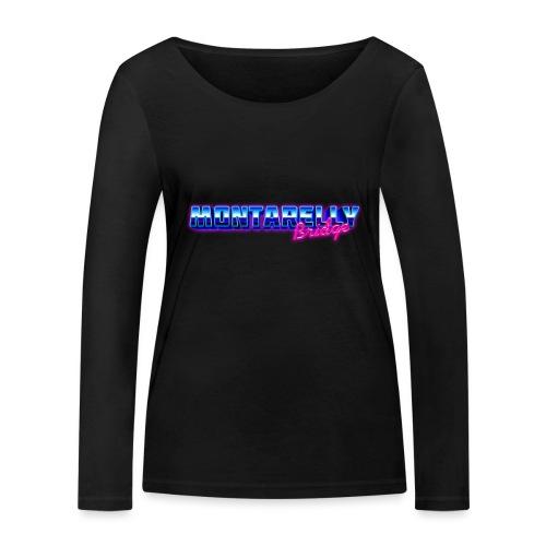 Montarelly - Maglietta a manica lunga ecologica da donna di Stanley & Stella