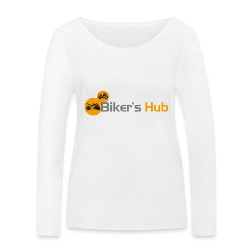 Biker's Hub Small Logo - Women's Organic Longsleeve Shirt by Stanley & Stella