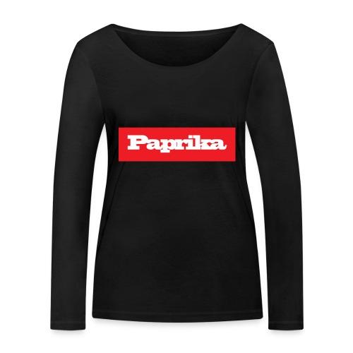 paprika - Frauen Bio-Langarmshirt von Stanley & Stella