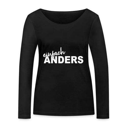 einfach ANDERS - Frauen Bio-Langarmshirt von Stanley & Stella