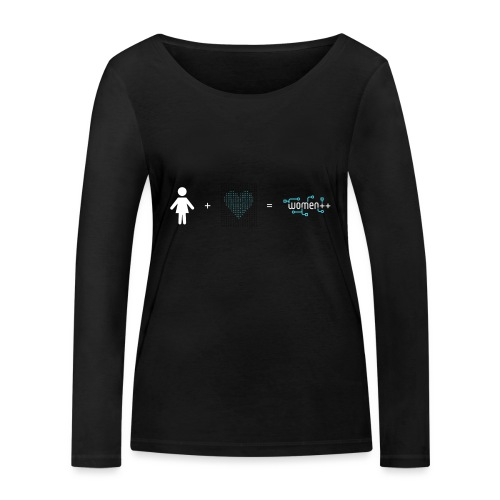 Women++ are made of <3 - T-shirt manches longues bio Stanley & Stella Femme