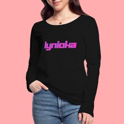 Lynioka Logo 2 - T-shirt manches longues bio Stanley & Stella Femme