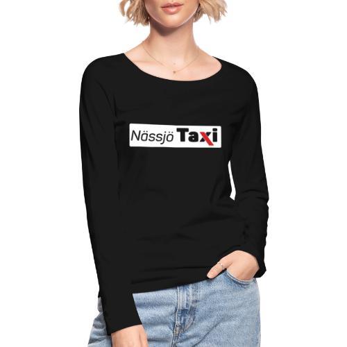 Nässjö taxi tryck - Ekologisk långärmad T-shirt dam från Stanley & Stella