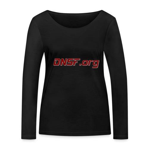 DNSF t-paita - Stanley & Stellan naisten pitkähihainen luomupaita