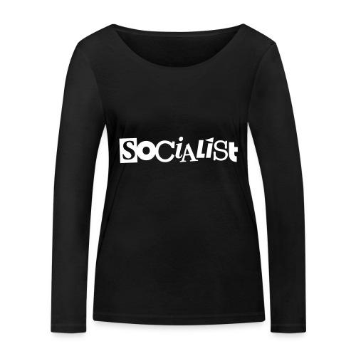 Socialist - Frauen Bio-Langarmshirt von Stanley & Stella