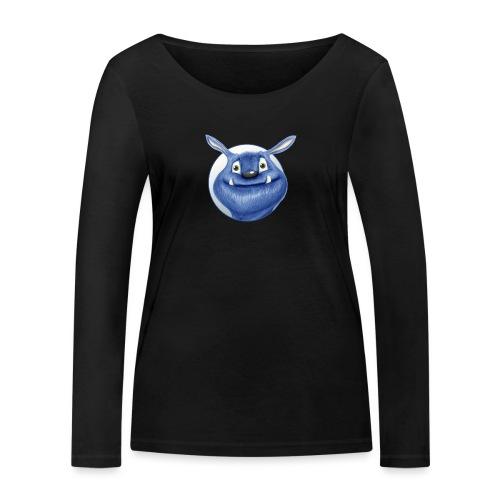 blaues Monster - Frauen Bio-Langarmshirt von Stanley & Stella
