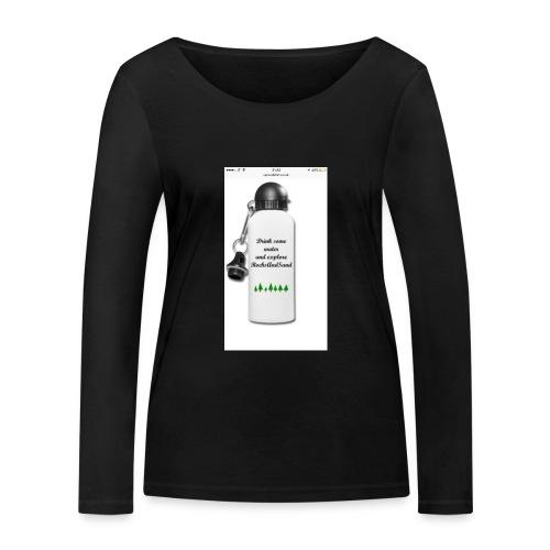 RocksAndSand adventure bottle - Women's Organic Longsleeve Shirt by Stanley & Stella