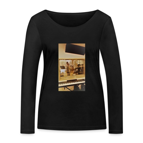 fan de caro - T-shirt manches longues bio Stanley & Stella Femme