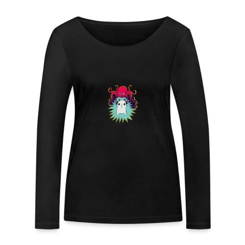 Leave Me Alone - Ekologiczna koszulka damska z długim rękawem Stanley & Stella