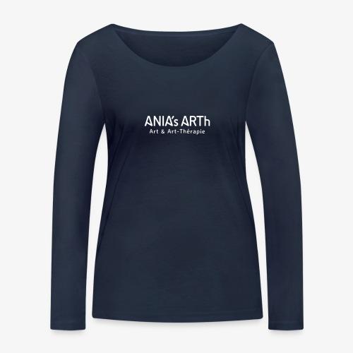 ANIA's ARTh Logo - Frauen Bio-Langarmshirt von Stanley & Stella