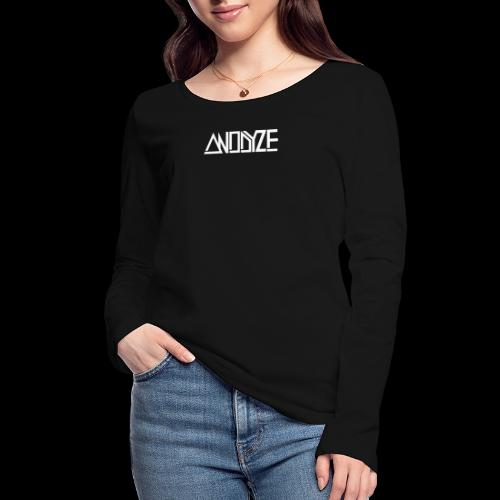 ANODYZE Standard - Frauen Bio-Langarmshirt von Stanley & Stella