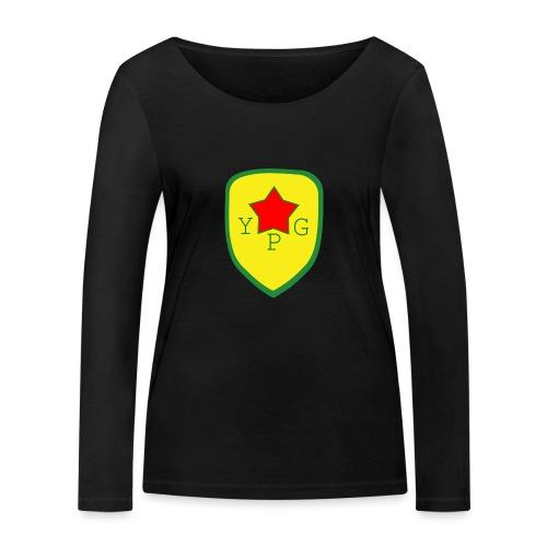 Mens Green YPG Support Tee - Stanley & Stellan naisten pitkähihainen luomupaita
