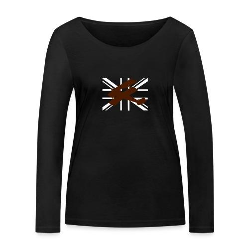 ukflagsmlWhite - Women's Organic Longsleeve Shirt by Stanley & Stella