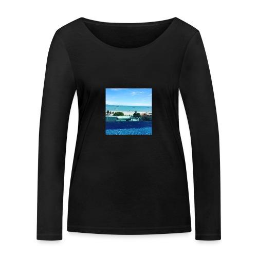 Thailand pattaya - Økologisk Stanley & Stella langærmet T-shirt til damer