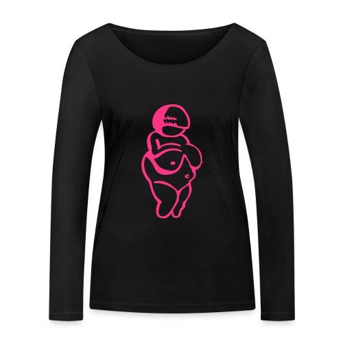 Venus von Willendorf - Frauen Bio-Langarmshirt von Stanley & Stella